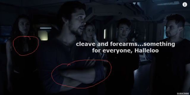 the 100 cleave and forearms